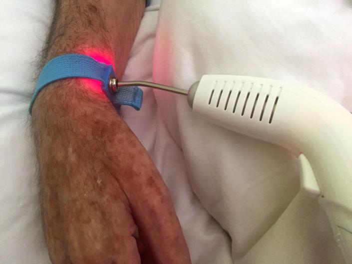 Estomaterapia com Laser